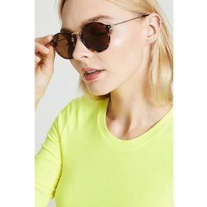 Ray-Ban Classic Round Fleck Sunglasses